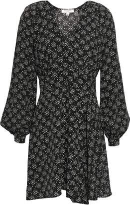 Equipment Alexandria Printed Silk Crepe De Chine Mini Dress