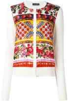Dolce & Gabbana Mambo print cardigan - women - Silk - 40