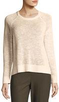 Eileen Fisher Organic Linen-Cotton Slub Sweater