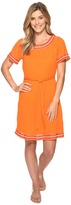 Tommy Bahama Embellished Gauze Short Dress Women's Dress