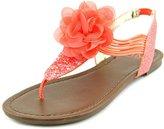 Material Girl Shilo Women US 7 Pink Thong Sandal