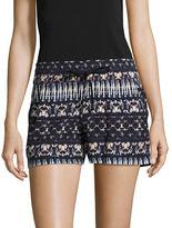 Jessica Simpson Bobbi Printed Drawstring Shorts