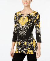 JM Collection Printed Hardware Top, Only at Macy's