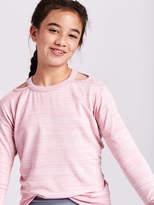 Athleta Girl Cold Shoulder Sweatshirt