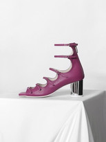 Strap Middle Heel Purple