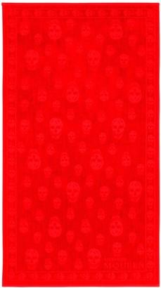 Alexander McQueen Skull Beach Towel