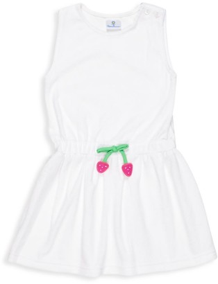 Florence Eiseman Little Girl's Terry Strawberry Cover-Up Dress