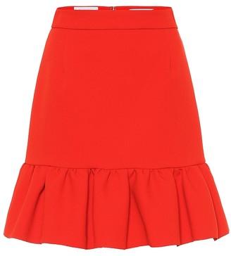 MSGM Stretch crepe miniskirt