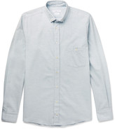 Richard James - Slim-fit Button-down Collar Cotton Oxford Shirt