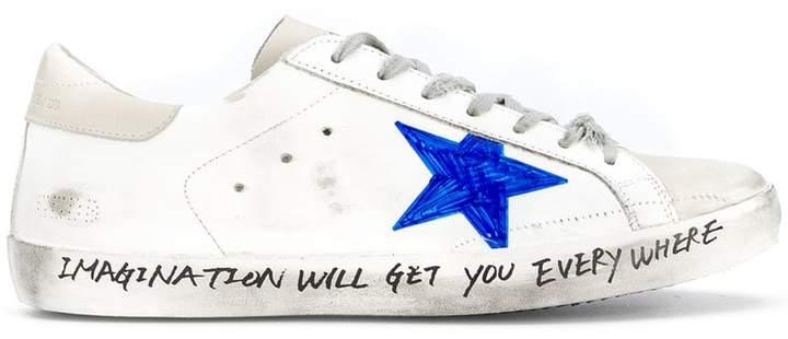 Golden Goose Star skate sneakers