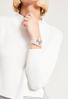 Missguided White Matte Bracelet Watch