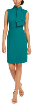 Harper Rose Neck-Tie Sheath Dress