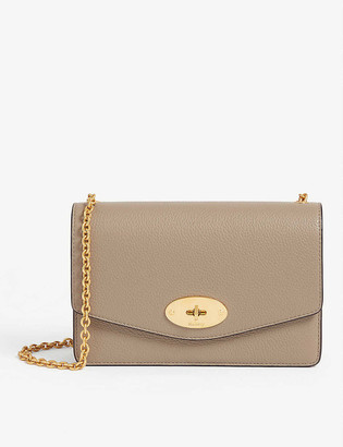 Mulberry Darley small leather wallet-on-chain