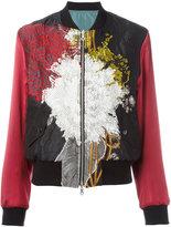 Dries Van Noten embroidered bomber jacket