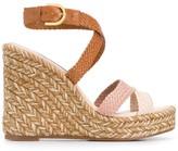 Stuart Weitzman Else woven sandals