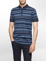 Calvin Klein Classic Fit Auto Stripe Jacquard Polo Shirt