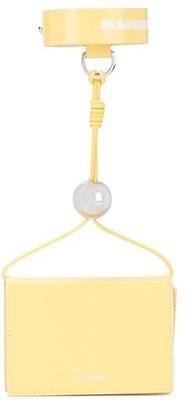 Jil Sander Wrist-Strap Clutch Bag