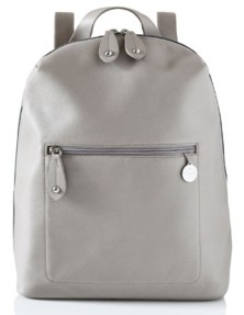 PacaPod Hartland Leather Convertible Backpack Diaper Bag