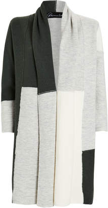 Parrish Betty Patchwork Wool Cardigan