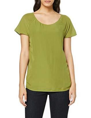 S'Oliver BLACK LABEL Women's 11.908.32.7656 T-Shirt, Blue Blue 5959, 12 (Size: )
