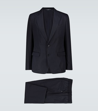 Dolce & Gabbana Cotton and silk-blend suit