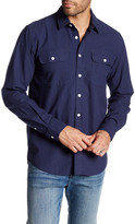 Saturdays NYC Angus Dobby Long Sleeve Shirt