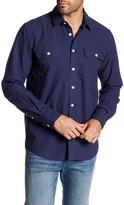 Saturdays Surf NYC Angus Dobby Long Sleeve Shirt