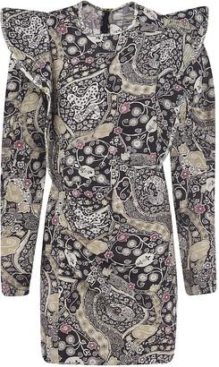 Etoile Isabel Marant Multi-print Short Dress