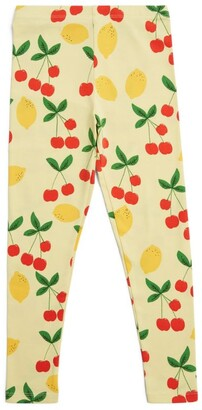Mini Rodini Cherry Lemonade Leggings (18 Months - 11 Years)