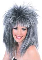 Rubie's Costume Co Rubie's Costume Silver Glitter Diva Wig with Tinsel