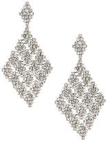 ABS by Allen Schwartz Diamond Shape Chandelier Earrings