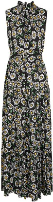 M Missoni Daisy-print tiered maxi dress