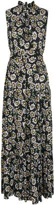 M Missoni Daisy-print Tiered Maxi Dress