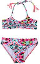 Gossip Girl Girls' Surfside Solstice 2-Piece Fringed Swimsuit
