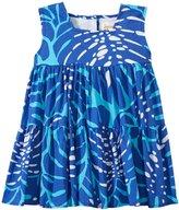 Masala Island Love Gypsy Dress (Baby) - Navy-6-12 Months