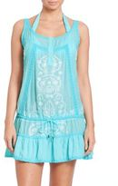 Melissa Odabash Embroidered Drawstring Coverup