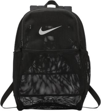 Nike Brasilia Mesh Backpack - Black