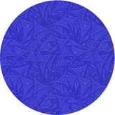 Blue Area Abstract Wool Navy Rug East Urban Home Rug Size: Square 4'