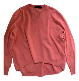Cédric Charlier Pink Wool Knitwear for Women