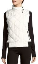 Funnel-Neck Puffer Vest
