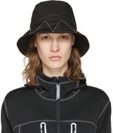 and Wander SSENSE Exclusive Black Bucket Hat