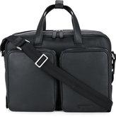 Cerruti laptop bag - men - Calf Leather - One Size