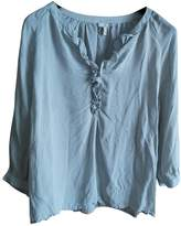 Joie Grey Silk Top for Women