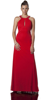 JS Collections 863593 Sultry Keyhole Ruched Evening Dress