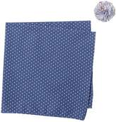 Original Penguin Cramm Dot Pocket Square & Lapel Pin Set