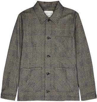 A Kind Of Guise Ashanti checked cotton-blend jacket