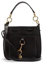 See by Chloe Tony Medium Leather Bucket Bag - Womens - Black