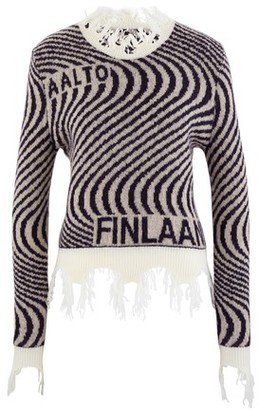 Aalto Knitted wave jumper