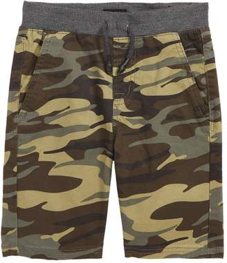 Hudson Jeans Campbell Camo Stretch Twill Shorts (Toddler Boys & Little Boys)