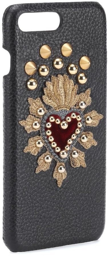 check out 3241d bc3b4 Leather iPhone 7 Plus case